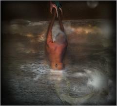 MENMAIDS (waynebrown9531) Tags: tail fish urbex composite sea scene reaching moon stars photo gothic goth punk wayne brown