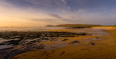 Constantine Bay @ Sunset (David Lea Kenney) Tags: beach beaches coast coastal sunset sunrise sea sky travel explore cornwall england uk