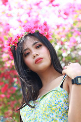 IMG_2623 (Sharmila Padilla) Tags: flowers lady canon portrait ladies balloon outside play pinkflowers pink photography street modes happy joy smile pretty sports white road makeup