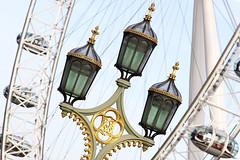 beautiful lamps. (maotaola) Tags: smileonsaturday three threeofakind threesame westminsterbridge lamps visitlondon
