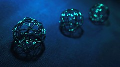 Threesame blue harmonies 61/365 HSoS (7 Blue Nights) Tags: threesame smileonsaturday blue three 3 020319 030219 bokeh monochrome mono macro 61365 perspective rx10