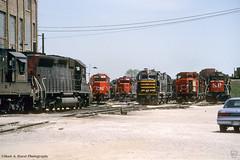 SP-CN-GT-BRC_Clearing-Chicago_0593 (mswphoto44) Tags: diesel locomotive railroad train shop yard emd ge alco brc cn sp clearing chicago