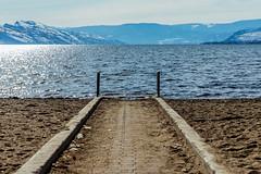 Beach Walk (melbaczuk) Tags: kelowna gyro beach okanaganlake okanagan kelownabc winter lake kelownanow exlorebc canon canon5dmark4