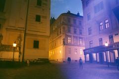 Negative0-14-16(1) (simona_stoeva) Tags: film analog 35mm canon ae 1 vienna travel trip city street night lights blur