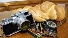 Panem nostrum cotidianum da nobis hodie ;/) (schyter) Tags: zorki3 kmz jupiter8 rangefinder fsu sovietcamera analogica analogic 35 135 pellicola film lens elegance
