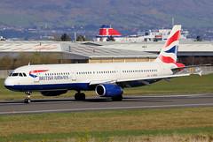 G-MEDG (GH@BHD) Tags: gmedg airbus a321 a321200 a321231 ba baw britishairways speedbird shuttle unionflag aircraft aviation airliner bhd egac belfastcityairport