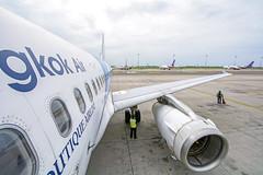 DSC_2512 (Kan_Rattaphol) Tags: aircraft airplane airlines airbus a320 a320232 bangkokairways pg bkk vtbs