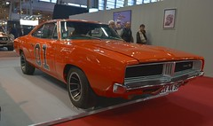 1969 Dodge Charger (pontfire) Tags: 1969 dodge charger rétromobile 2018