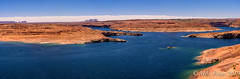 Lake Powell Panorama (BFS Man) Tags: arizona d750 lakepowell nikon rock sky water
