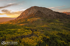 Marcellinus Mountain (Jenn Grover) Tags: anthraciterange aspens colorado colorfulcolorado crestedbutte djimavic2pro drone gmugnationalforest gunnison gunnisonnationalforest hasselblad keblerpass marcellinamountain raggedswilderness uas uav usfs westelkmountains autumn colors fall foliage forest grove leaves mountains mountainscape quadcopter stand sunset trees