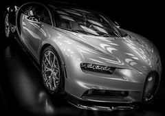 CHIRON (Dave GRR) Tags: bugatti chiron toronto auto show 2018 monochrome mono black white supercar racingcar luxurycar exoticcar exotic hypercar photography automotive olympus