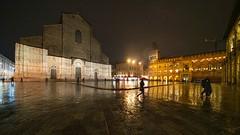 Piazza Maggiore (Davide Gabino (aka Stròlic Furlàn)) Tags: bologna piazzamaggiore rain pioggia laowa12mmf28