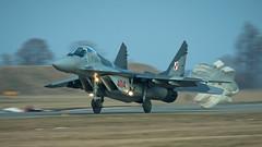 MiG-29G (kamil_olszowy) Tags: mig29g fulcrum fighter polish air force epmb malbork poland 22blt 4104 912a siły powietrzne rp jet миг29г ввс польши
