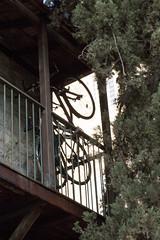 Hanging Bikes Contrast (zeevveez) Tags: זאבברקן zeevveez zeevbarkan canon contrast bw bicycle balcony