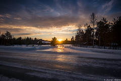 Z19_1259-Edit LT (Zoran Babich) Tags: lapland lappi finland suomi winter snow landscape sunset ice