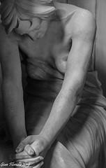 Untitled (Gian Floridia) Tags: genova staglieno bn bw bienne cimitero funebre ragazza realismo ritratto statua untitled