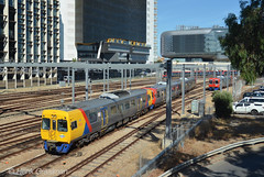 Colour change (railfan3) Tags: adelaide adelaidemetro metroadelaide adelaiderailyards railways commutertrains suburbantrains publictransport heavyrail trains train southaustralia australia australian
