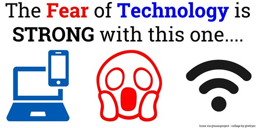 Technology Fear Logo by Wesley Fryer, on Flickr