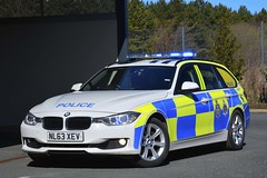 NL63 XEV (S11 AUN) Tags: durham constabulary bmw 330d 3series xdrive touring anpr police traffic car rpu roads policing unit 999 emergency vehicle nl63xev