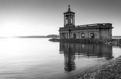 Normanton Church (John__Hull) Tags: normanton church rutland water uk england scene reservoir nikon d7200 sigma 1020mm st matthews sunset east midlands black white monochrome