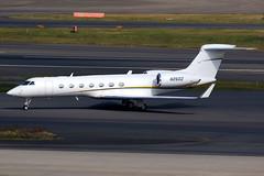 Private | Gulfstream G550 | N260Z | Tokyo Haneda (Dennis HKG) Tags: aircraft airplane airport plane planespotting bizjet businessjet canon 7d 100400 tokyo haneda rjtt hnd gulfstream g550 n260z