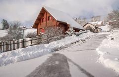 Matinée de neige (mrieffly) Tags: alsace htrhin hautesvosges geishouse lemazot canoneos50d