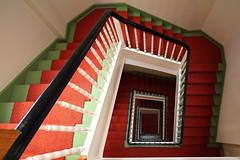 Italian Stairs (Elbmaedchen) Tags: staircase treppenhaus treppe stairwell stufen steps upanddownstairs interior architecture berlin charlottenburgwilmersdorf