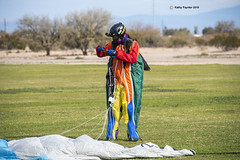 Flying fun in this suit 7651 (kathypaynter.com) Tags: eloy eloyarizona eloyaz arizona az parachute parachutes jump jumper jumpers tandem tandemjump squirrelsuit