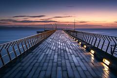 Lorne Pier (Trevor Tutt) Tags: light water roadtrip greatoceanroad victoria australia ocean rain wet sunrise longexposure pier lorne