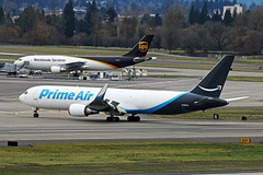 Cargo Expertise (planephotoman) Tags: boeing 767 763 767300 76731k bdsf n1489a cn27206 atlasair andromedaleasing primeair amazonprime amazon prime cargo airbus a300 a306 a300600 a300f4622r sn823 exfwwav ups unitedparcelservice haulercargo opsex gdajcthomas cookmy travelex cgjjcskyservice airlinespdx opscargo flightportland international airport pdx kpdx