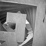Detail of Steel Sculpture by Heloise Crista thumbnail