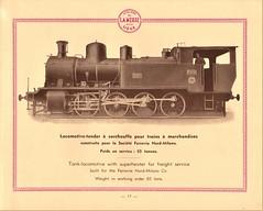 La Meuse Steam Locomotives Catalogue (1934) (HISTORICAL RAILWAY IMAGES) Tags: lameuse steam locomotive train catalogue 1934 italia milano milan railway fnm