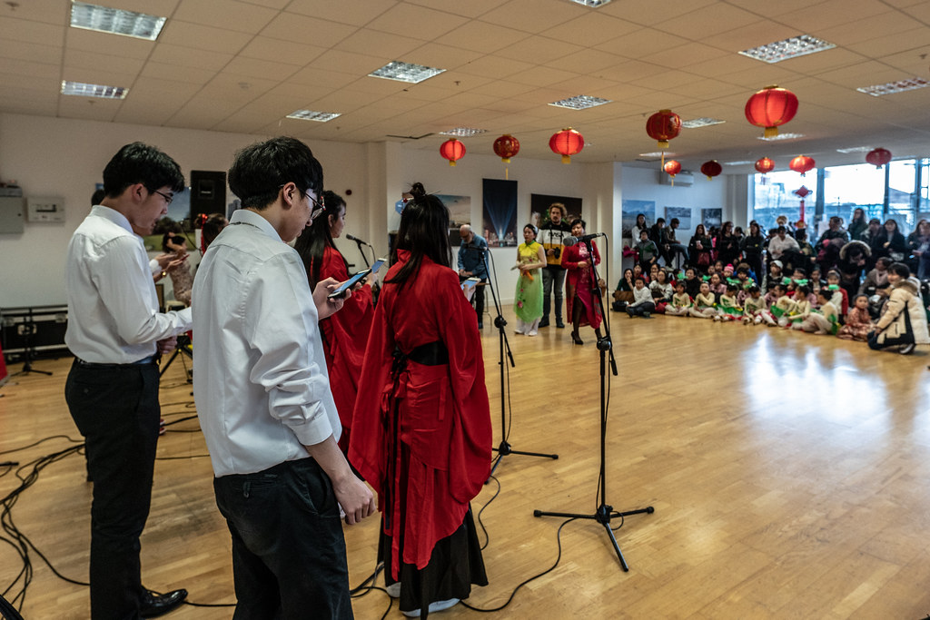 YEAR OF THE PIG - LUNAR NEW YEAR CELEBRATION AT THE CHQ IN DUBLIN [OFTEN REFERRED TO AS CHINESE NEW YEAR]-148955