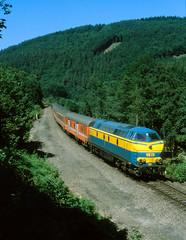 42_718 (Peter Van Gestel) Tags: lijn ligne 42 reeks serie 55 trois ponts nmbs sncb