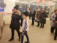 After The Illusionists (Joe Shlabotnik) Tags: broadway theater sue newyorkcity cameraphone nyc manhattan december2018 illusionists violet galaxys9 2018 timessquare