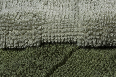 Terrycloth two-tone -[ HMM ]- (Carbon Arc) Tags: macromondays cloth terrycloth towel hand bath bathroom shower wash soft scultured macro mint dark green loop pile tufts fabric terry
