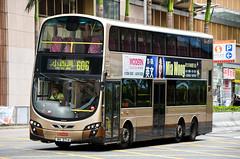 Kowloon Motor Bus Volvo B9TL 12m Wright Eclipse Gemini II (nighteye) Tags: kowloonmotorbus kmb 九龍巴士 volvo b9tl 12m wright eclipse geminiii avbwu282 rk2714 route606 hongkong bus