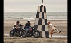 ...and they're off! (Whitney Lake) Tags: explore 14 eastcoast coast ocean atlantic southjersey vintage retro dragrace drags beach jerseyshore newjersey wildwoods 2018 theraceofgentlemen trog