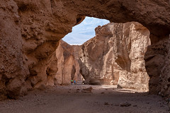 Natural Bridge (Kirk Lougheed) Tags: california deathvalley deathvalleynationalpark naturalbridge naturalbridgecanyon panamintmountains usa unitedstates canyon landscape nationalpark outdoor park