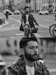 [La Mia Città][Pedala] (Urca) Tags: milano italia 2018 bicicletta pedalare ciclista ritrattostradale portrait dittico bike bicycle nikondigitale scéta biancoenero blackandwhite bn bw 118325