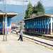 Train in Bijelo Polje, Montenegro