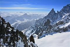 Punta Helbronner - Monte Bianco - Ghiacciaio del Gigante - Dente del Gigante (Photo by Lele) Tags: punta helbronner monte bianco ghiacciaio del gigante dente aosta valle daosta valdaosta courmayeur