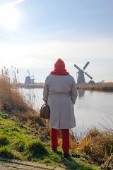 Kinderdijk (Halans) Tags: kinderdijk be19 belgium2019 redmom nederland windmill