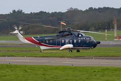 G-ATFM S-61N British International Prestwick 03.10.17 (Robert Banks 1) Tags: gatfm sikorsky s61 s61n helicopter british international prestwick egpk pik bih