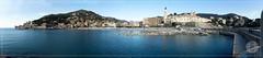 Recco panorama (Terzacentro) Tags: terzacentro chicco caroli francesco genova olympus camera tg5 tough recco spiaggia panorama beach harbour port compact genoa