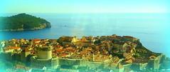Blick auf die Altstadt von Dubrownik (Zwischenrast) Tags: stadt panorama dubrownik kroatien