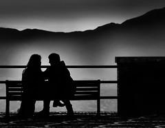 ..... (robertoburchi1949) Tags: people persone street blackwhite bianconero love amore