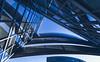 Triangular function in blue (Iso_Star) Tags: sony ilce7m3 samyangaf14mmf28 samyang 14mm gebäude building düsseldorf germany blau blue sky himmel