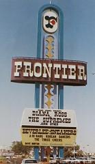 1967 Frontier Las Vegas Pylon Sign - Las Vegas (Design by Bill Clarke for Ad Art) (hmdavid) Tags: vintage sign spectacular lasvegas nevada book themagicsign chuckbarnard frontier hotel casino pylon neon billclarke adart 1960s 1967 modern design