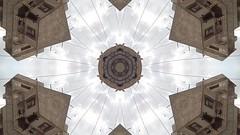 Eagles in the sky — Kaleidoscope (uz360) Tags: uzair qadri uz360 arts video art eagle flying karachi pakistan kaleidoscope effect cellphone